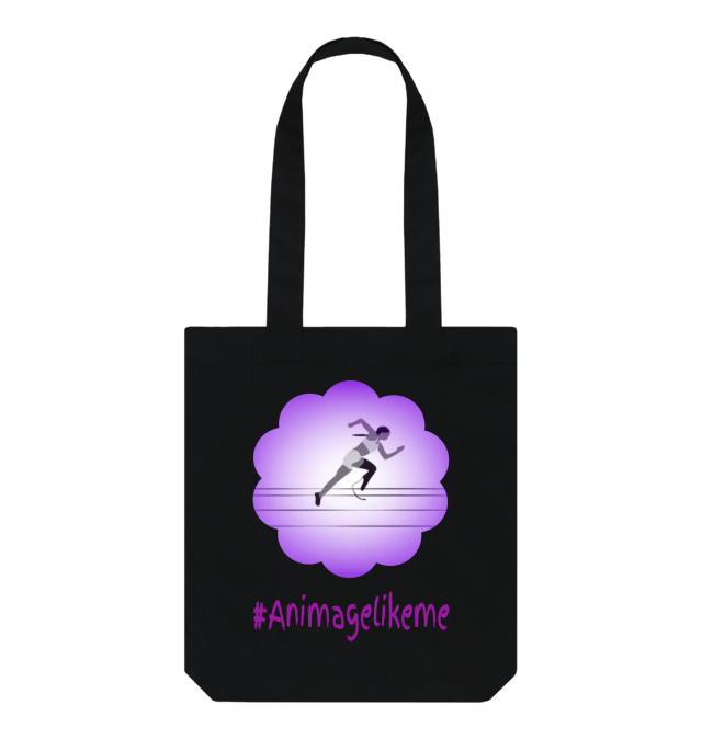 Diversity Designs Girl Wearing Shorts Tote Bag