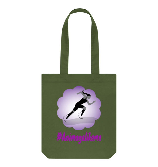 Diversity Designs Girl Blade Runner with Plait Tote Bag