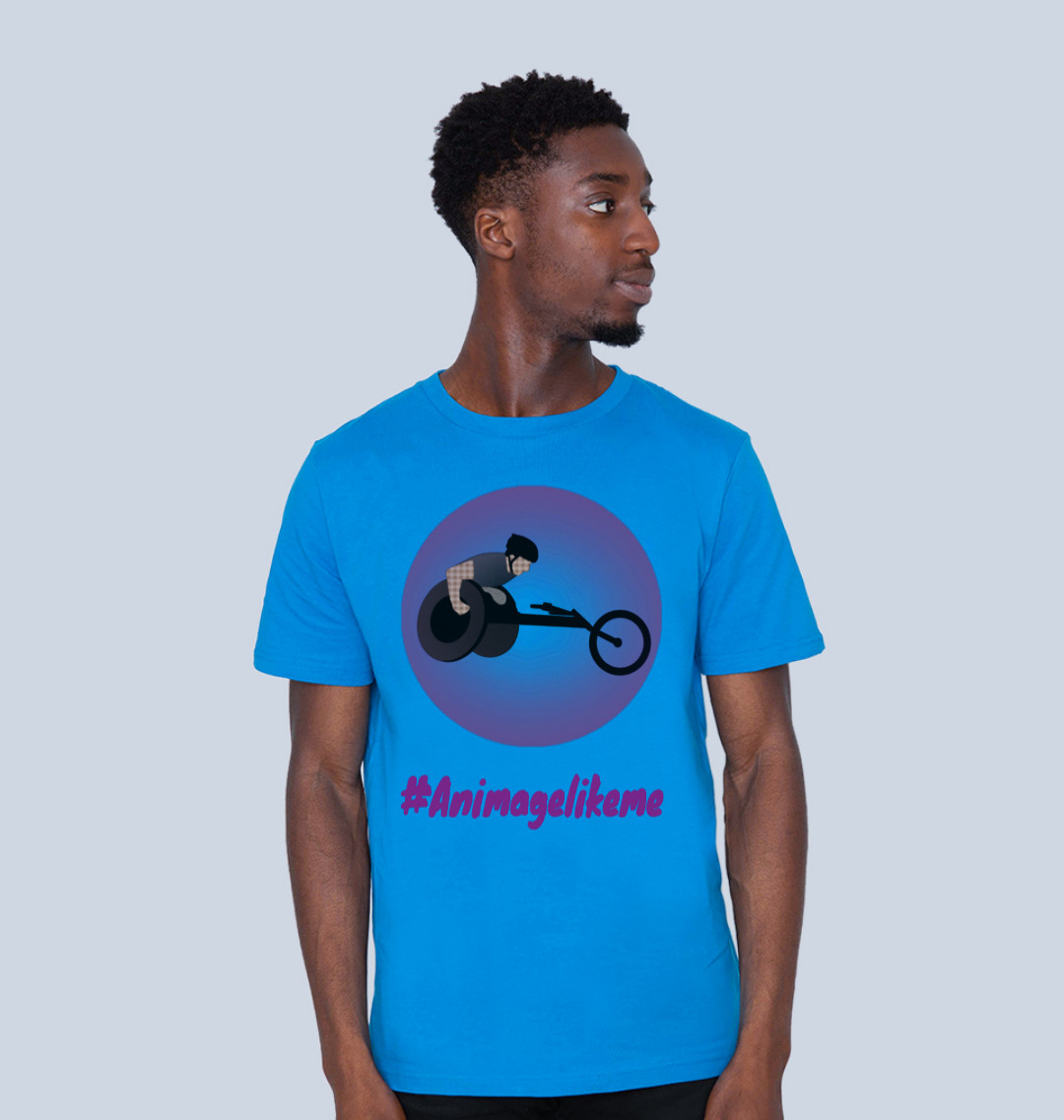 Diversity Designs Boy Wheelchair Athlete T-Shirt