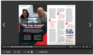 We're in Disability Review Magazine!