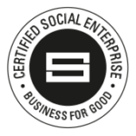 certification badge for social enterprise UK, business for good