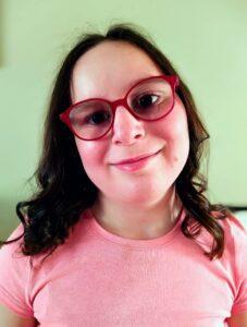 Head shot of Adi aged 11 (2021)
